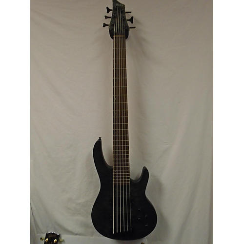 In Store Used Used BRICE HXB-406 STEALTH BLACK Electric Bass Guitar