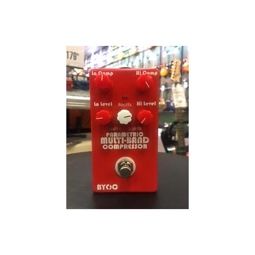 In Store Used Used BYOC PARAMETRIC MULTI BAND COMPRESSOR Effect Pedal