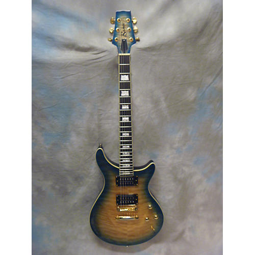 In Store Used Used Baker B1 Plus Island Flame Top Solid Body Electric Guitar