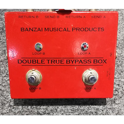 In Store Used Used Banzai Musical Products BYPASS BOX Direct Box