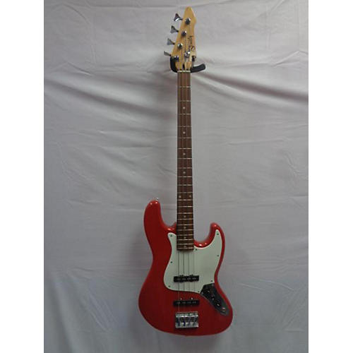 In Store Used Used Bently Red Bass Red Electric Bass Guitar