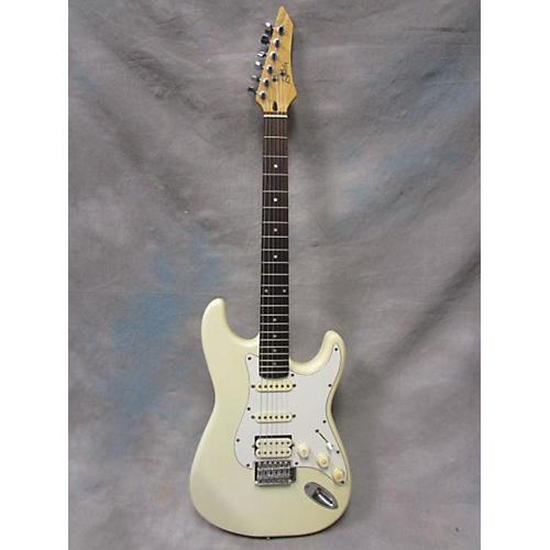 In Store Used Used Bently S-Style HSS Vintage White Solid Body Electric Guitar