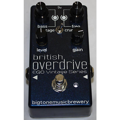 In Store Used Used Big Tone Music Brewery British Overdrive Effect Pedal