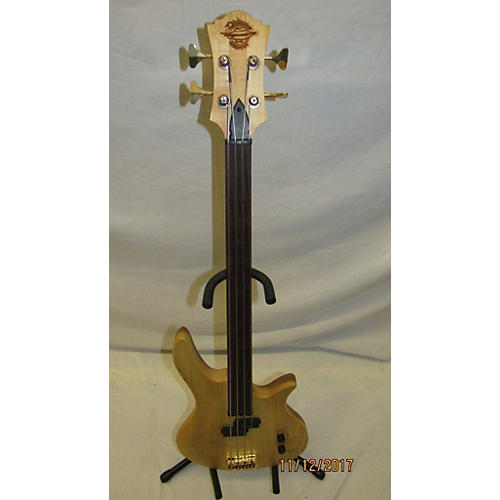 In Store Used Used BirdSong C Bass Short Scale Fretless Vintage Blonde Electric Bass Guitar