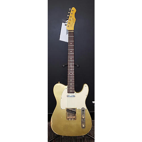 In Store Used Used Bluesman Vintage 62' Coupe Aztec Gold Solid Body Electric Guitar