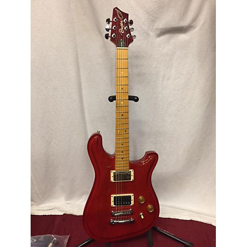 In Store Used Used Brazen Fantasy Trans Red Solid Body Electric Guitar