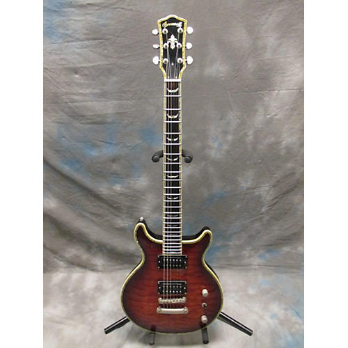 In Store Used Used Bronwsville Double Cut Away Brown Sunburst Solid Body Electric Guitar