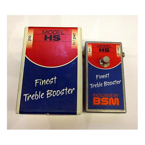 In Store Used Used Bsm Treble Booster Effect Pedal