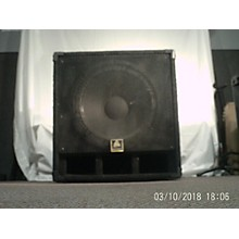 Used Bullfrog 18 Inch Unpowered Subwoofer