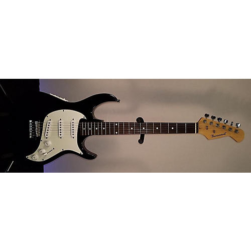 In Store Used Used Burlwood Double Cut Black Solid Body Electric Guitar