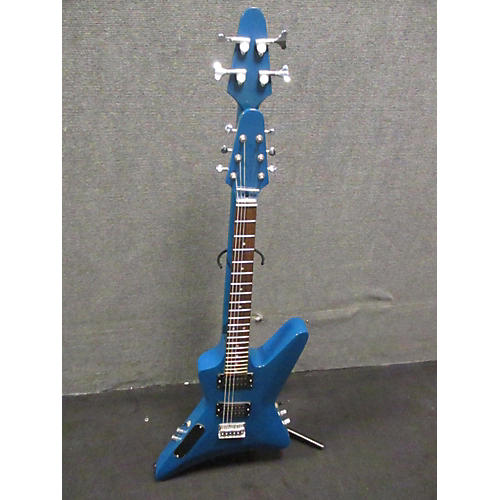 In Store Used Used Busuyi SLRV Blue Solid Body Electric Guitar