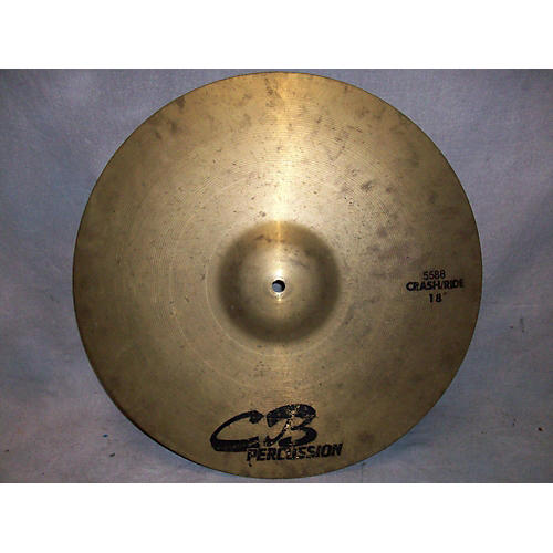In Store Used Used CB Drums 18in Crash/ride Cymbal