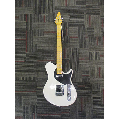 In Store Used Used CB Hill Speedster SS Trans White Solid Body Electric Guitar