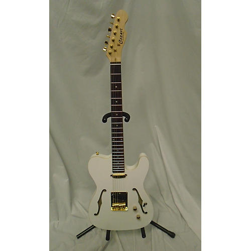 In Store Used Used COZART T STYLE White Hollow Body Electric Guitar