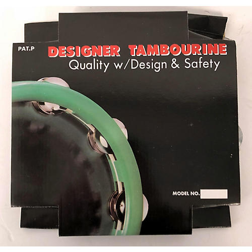 In Store Used Used CPK PERCUSSION TAM-104 TAMBOURINE BLACK Hand Percussion