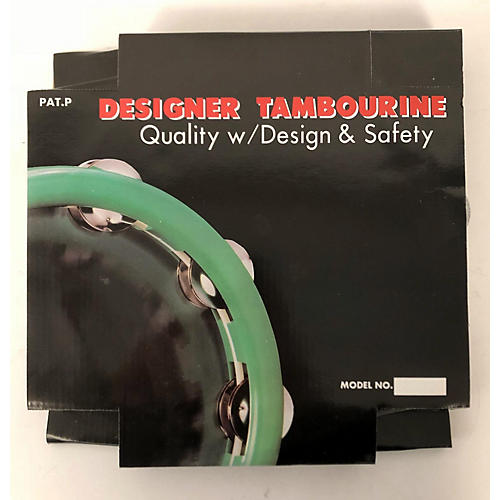 In Store Used Used CPK PERCUSSION TAM-104 TAMBOURINE WHITE Hand Percussion