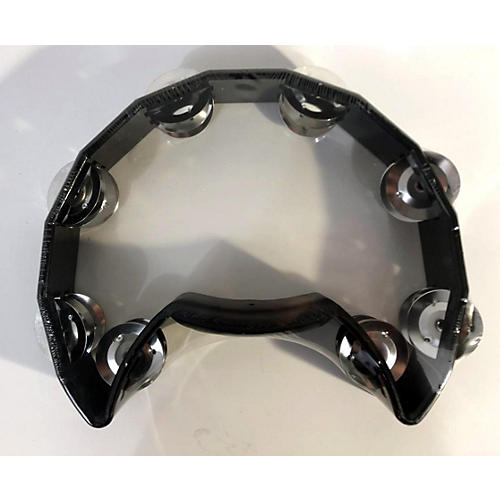In Store Used Used CPK PERCUSSION TAM-10Y TAMBOURINE BLACK Hand Percussion