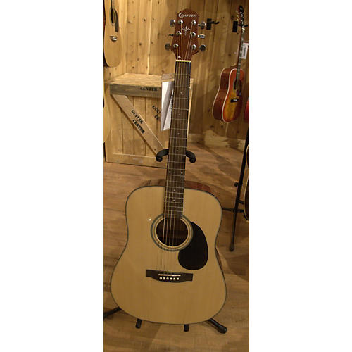 In Store Used Used CRAFTER HD40NT Natural Acoustic Guitar