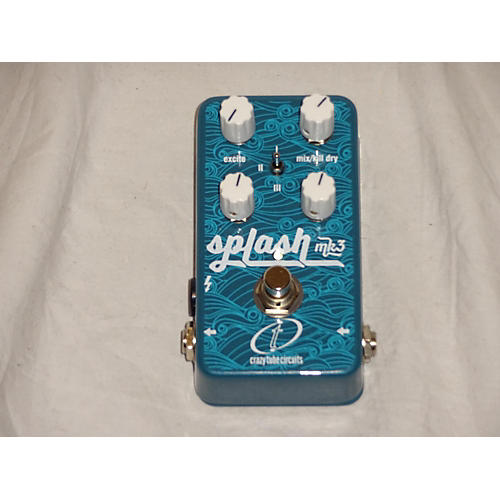 In Store Used Used CRAZY TUBE CIRCUITS SPLASH MK3 Effect Pedal