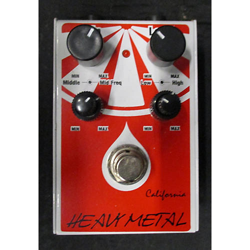 In Store Used Used California Chm1 Heavy Metal Effect Pedal