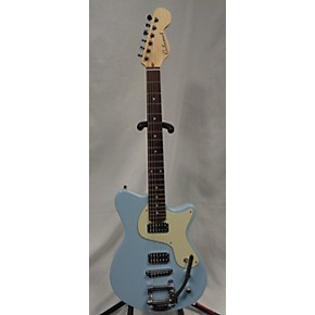 used calumet stronzetta baby blue solid body electric guitar baby blue guitar center. Black Bedroom Furniture Sets. Home Design Ideas