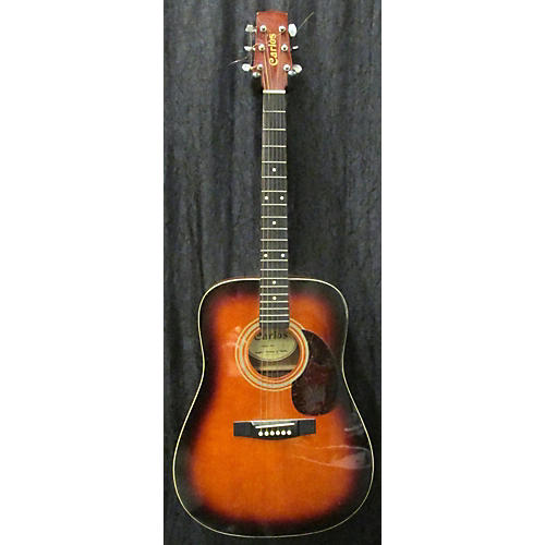 In Store Used Used Carlos 437 Sunburst Acoustic Guitar