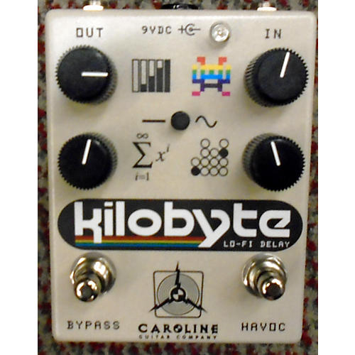 In Store Used Used Caroline Kilobyte Effect Pedal