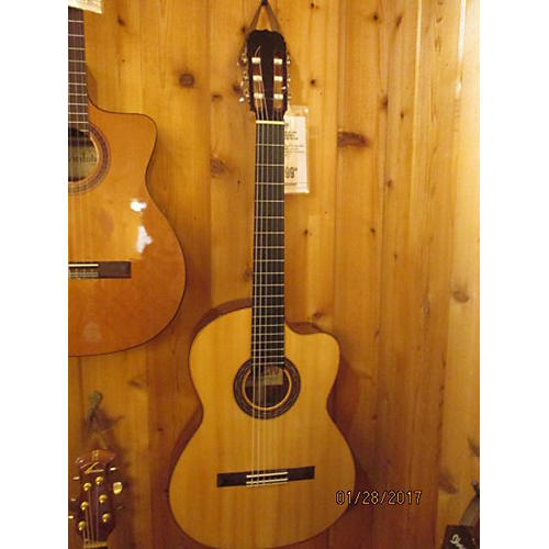 In Store Used Used Casa Montalvo High Gloss Cutaway Natural Classical Acoustic Guitar