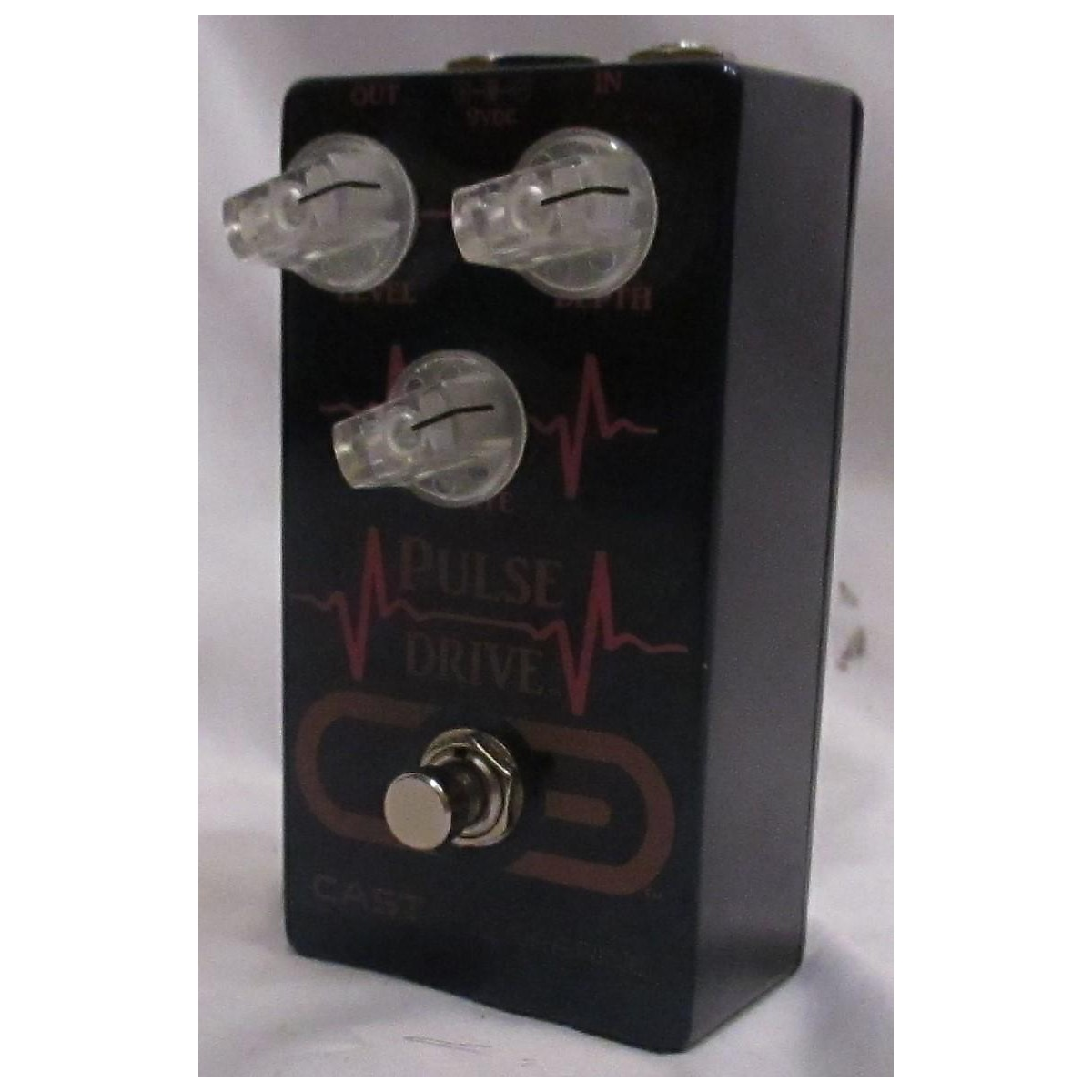 In Store Used Used Cast Engineering Pulse Tremolo Effect Pedal