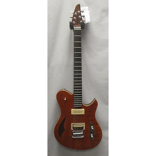In Store Used Used Cb Hill Surfmaster Semi-hollow Natural Hollow Body Electric Guitar
