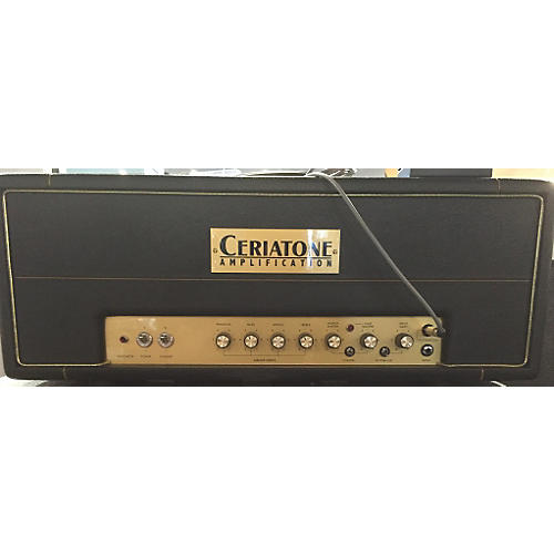In Store Used Used Ceriatone 2015 Silver Jubilee 50W Amplifier Tube Guitar Amp Head