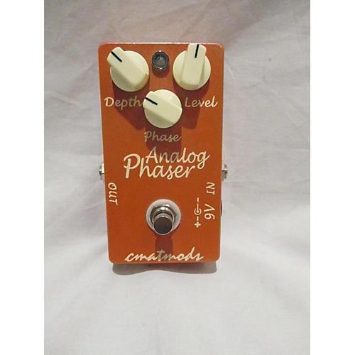 In Store Used Used Cmatmods Analog Phaser Effect Pedal