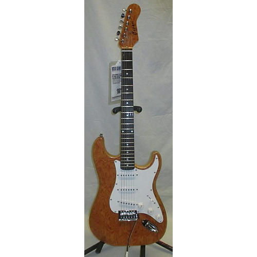 In Store Used Used Cozart S-Style Natural Solid Body Electric Guitar