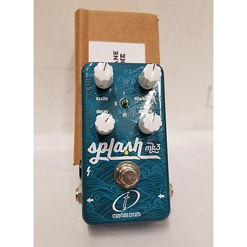 In Store Used Used Crazy Tube Circuits Splash MKIII Effect Pedal