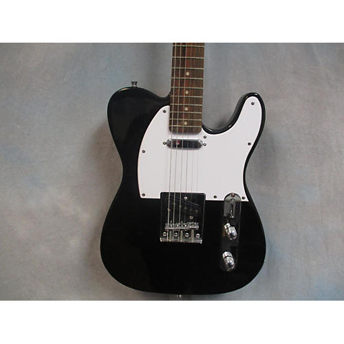 In Store Used Used Crescent Tele Style Black Solid Body Electric Guitar