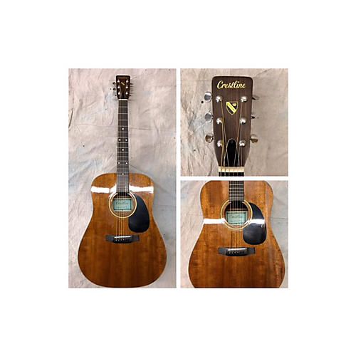In Store Used Used Crestline CIT910 Mahogany Acoustic Guitar
