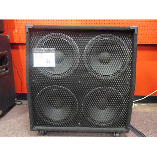 In Store Used Used Custom Parts 4x12 Cab W Celestion Seventy 80s Slanted Guitar Cabinet