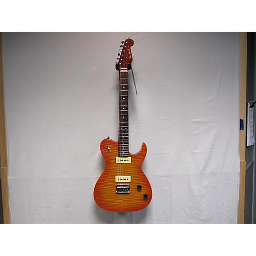 In Store Used Used DON GROSH BENT TOP Cherry Sunburst Solid Body Electric Guitar