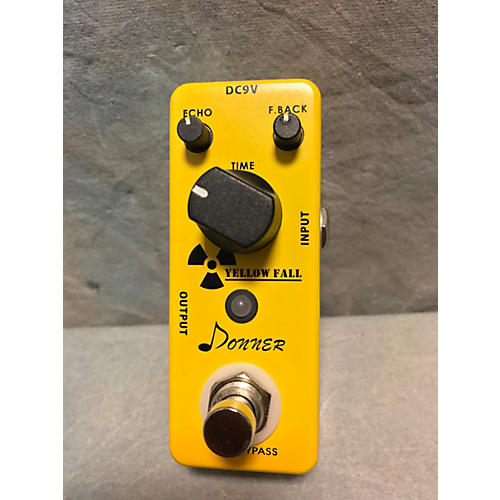 In Store Used Used DONNER YELLOW FALL Effect Pedal