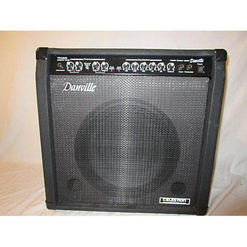 In Store Used Used Danville TEC 80 Bass Combo Amp