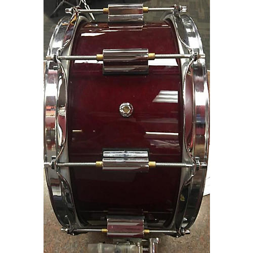In Store Used Used Dc 6.5X14 Snare Drum Drum Wine Red