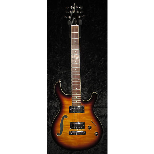 In Store Used Used Dillon Electric Desert Burst Hollow Body Electric Guitar