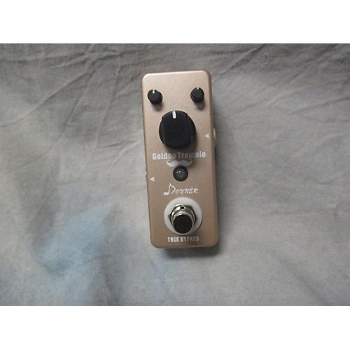 In Store Used Used Donner Golden Tremolo Effect Pedal