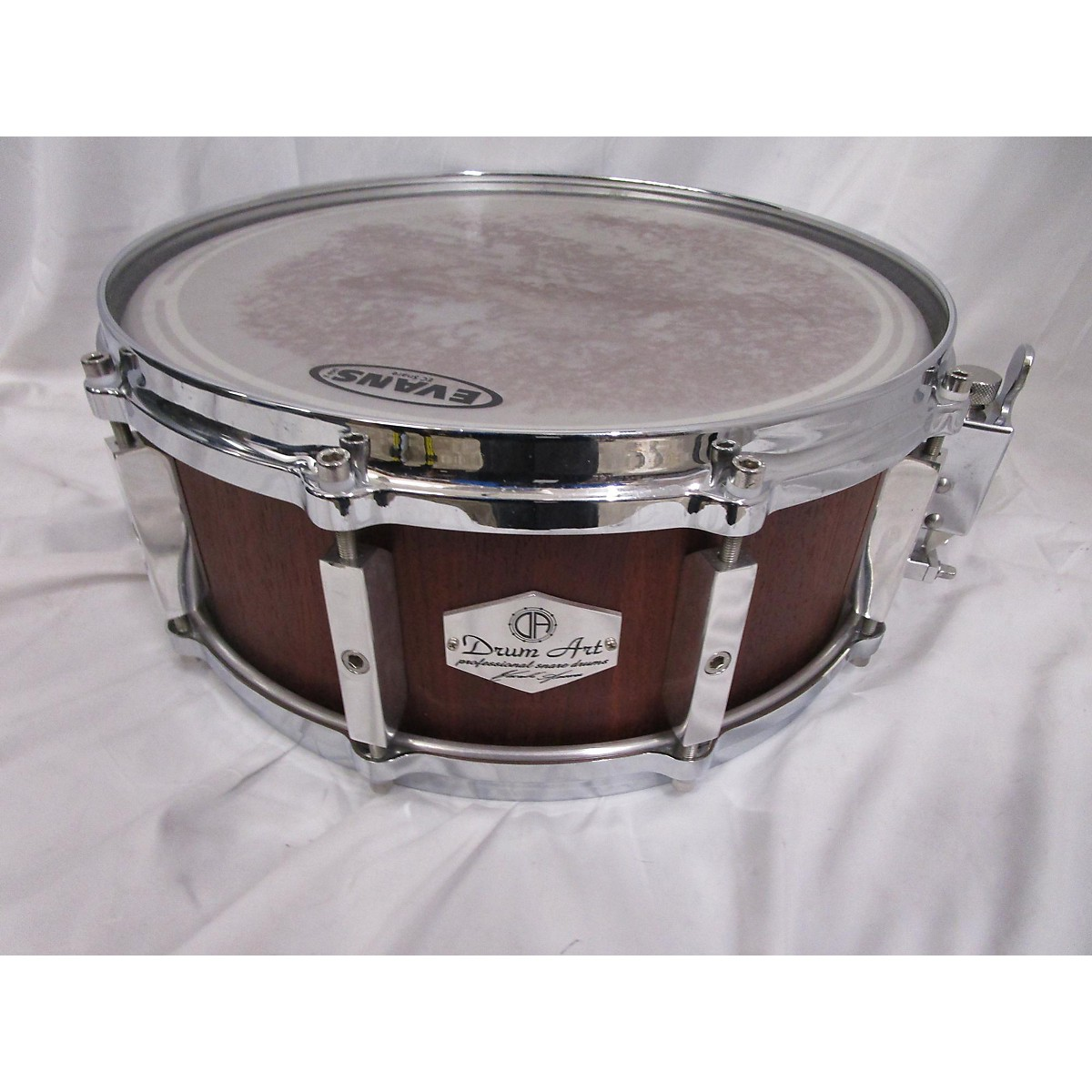 In Store Used Used Drum Art 5.5X14 Padauk Drum Burgundy