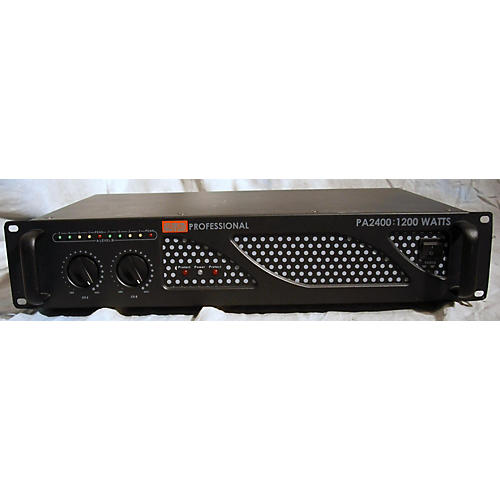 In Store Used Used EMB PA2400 Power Amp