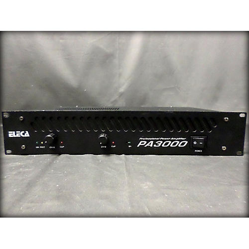 In Store Used Used Eleca Pa3000 Power Amp