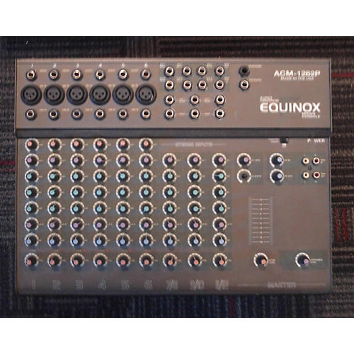 In Store Used Used Equinox Acm-1262p Powered Mixer
