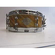Used Evetts 4X12 Custom Blue Spotted Gum Snare Drum Twisted Camphor