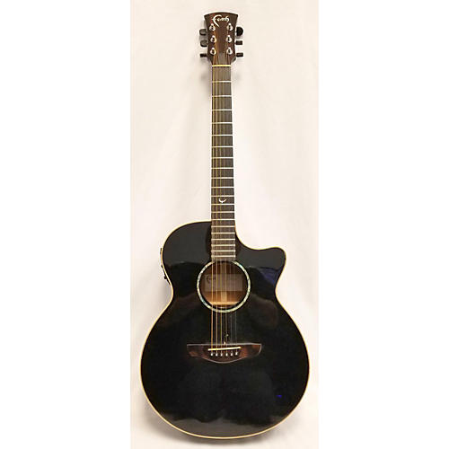 In Store Used Used FAITH FECV Black Acoustic Electric Guitar