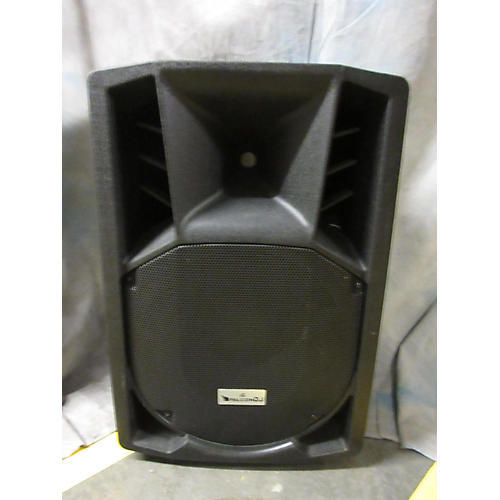 used falcon dj f115usb powered speaker guitar center